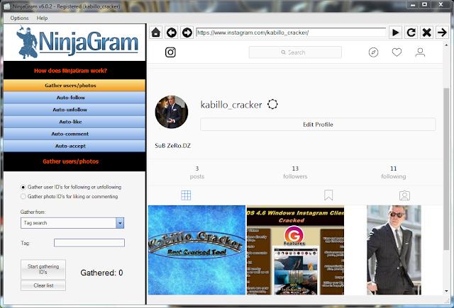 ninja instagram free download