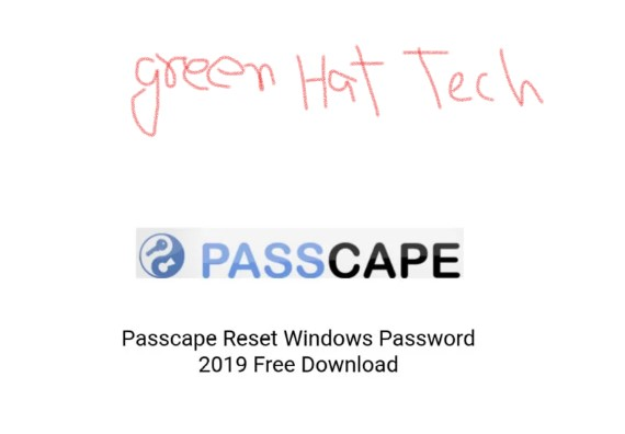 Passcape Reset Windows Password 2019 Free Download