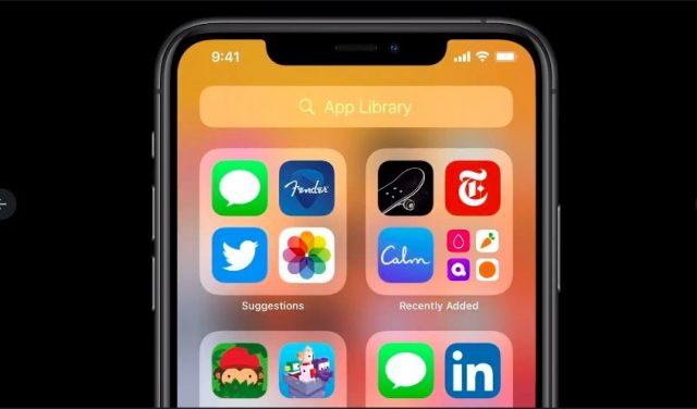 iOS-14-app-library